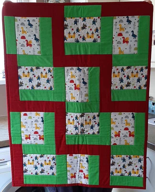 Alison has made these quilts for Linus Project.