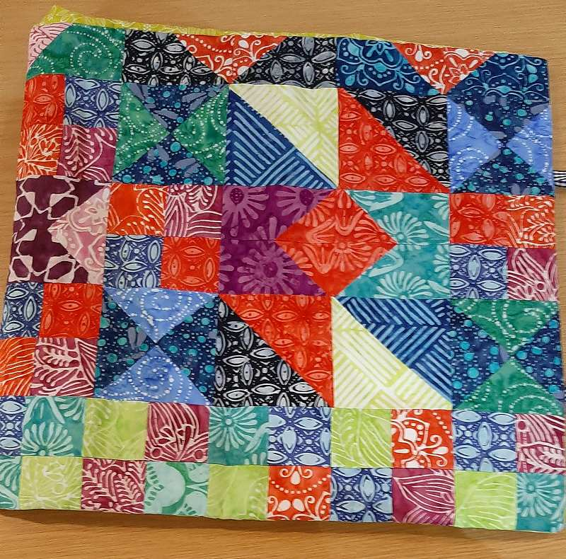 A Linus quilt made by Alison.